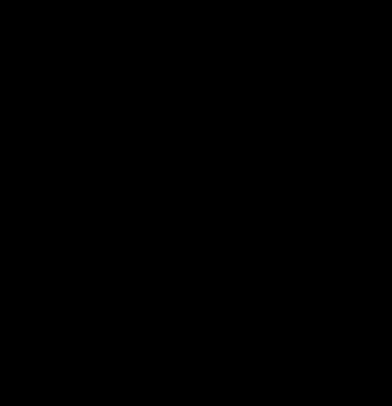 Blume transparent